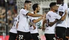 """الدوري الإسباني: تعادل """"دراماتيكي"""" بين فالنسيا وخيتافي"""
