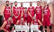 تصفيات كاس اسيا لكرة السلة 2021 نهاية الربع الثالث: لبنان 82-45 الهند