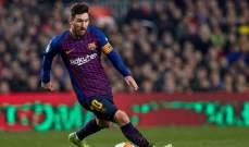 ميسي يهدد بمغادرة برشلونة ما لم...