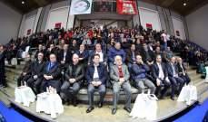افتتاح بطولة الكرة الطائرة برعاية وزير الشباب والرياضة