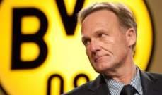 المدير الرياضي في دورتموند ينتقد ضياع نقاط الاندية الألمانية في أوروبا
