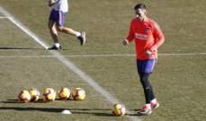 كالينيتش بديل لكوستا الموقوف في مباراة اتلتيكو مدريد القادمة