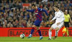 علامات لاعبي مباراة برشلونة - ريال مدريد