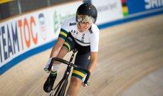 الأسترالية جريكو تحرز ذهبيّة منافسات الدراجات على المضمار