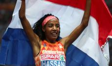 سيفان حسن تفوز بذهبية 5 آلاف متر للسيدات