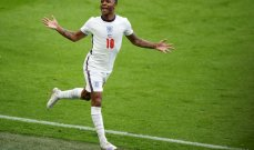 كأس أوروبا:  سترلينغ يُخَلِصُ إنكلترا من كوابيس الماضي