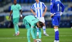 ريميرو تفوق على كورتوا رغم خسارة فريقه امام الريال