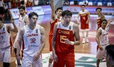 تصفيات آسيا للسلة: الصين تتخطى اليابان وفوز بفارق شاسع لكوريا الجنوبية