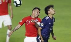 غاري ميديل سعيد بنقاط المباراة الكاملة امام اليابان