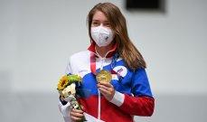 اتساراشكينا تمنح روسية أول ذهبية في طوكيو 2020