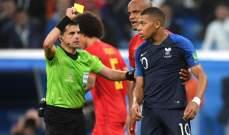 أندريس نجح في ادارة اللقاء بين بلجيكا وفرنسا في نصف نهائي المونديال