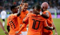 إنجاز شخصي للمهاجم ممفيس ديباي مع هولندا