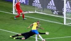 نيمار يتألق خلال مواجهة صربيا