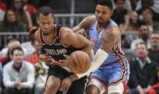 NBA: ووريورز يهزم وولفز وليكرز يوقف انتصارات هورنتس