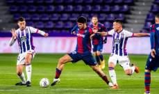 الدوري الاسباني: ليفانتي يعود بنقطة التعادل من معقل بلد الوليد