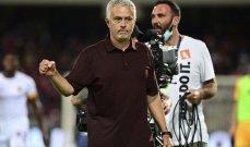 لفتة إنسانية مميّزة من مورينيو بعد مباراة روما وسالارنيتانا