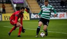 سبورتينغ لشبونة يفوز على ناسيونال ماديرا في الدوري البرتغالي