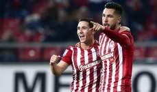 الدوري اليوناني : فوز صعب لاولمبياكوس على باناتوليكوس