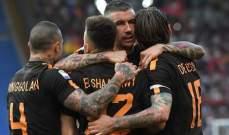 الكالتشيو : روما يستعد لمواجهة ليفربول برباعية أمام كييفو فيرونا