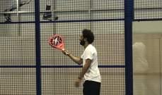 محمد صلاح يمارس هوايته المفضلة في دبي