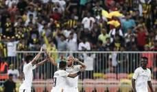 البطولة العربية : تعادل اتحاد جدة مع الوصل الاماراتي