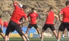 هيرموسو يشارك في تدريبات اتلتيكو مدريد بعد ساعات من انضمامه