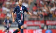سارابيا: توقعت فريقا مغايرا عند انتقالي الى باريس سان جيرمان