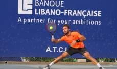 دورة لبنان الدولية للتنس: اللقب بين ريبول ومونتانا