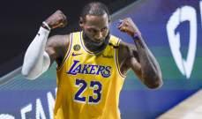 ميلووكي والليكرز يحسمان تأهلهما الى نصف نهائي NBA
