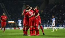 ليفركوزن يجدد فوزه امام بورتو وتأهل روما وفولفسبورغ وخروج اسبانيول