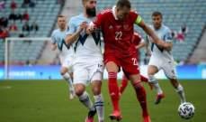 تصفيات كأس العالم: روسيا تتخطى سلوفينيا وفوز كبير لمونتينيغرو
