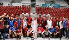 الريان القطري بطل كأس الاتحاد للشباب لكرة اليد