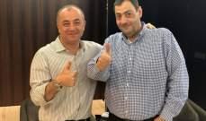 الحلبي يشكر بو صعب على دعمه للمنتخب اللبناني