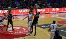 خاص: بيروت الأكثر تسجيلا في المرحلة العاشرة من الدوري اللبناني لكرة السلة