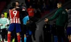 رابطة الليغا تستنكر إساءة جماهير ريال مدريد لسيميوني وموراتا