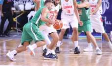 لبنان يفوز ودياً امام العراق في بطولة البحرين الدولية لكرة السلة