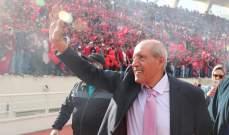 صقال: خسرت كرة القدم اللبنانية رمزا من رموزها برحيل شبارو
