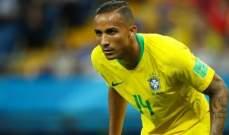 البرازيلي دانيلو يترك لقاء الارجنتين مصابا