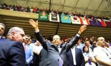 الحلبي يدعو الرئيس العماد ميشال عون الى حضور المباراة ضد كوريا الجنوبية