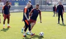 برشلونة يستعد لمواجهة سوسييداد الاخيرة