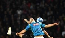 احصاءات مباراة باريس سان جيرمان ونابولي