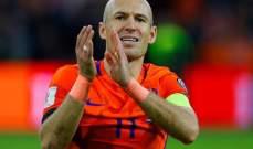 روبن يعلن اعتزاله دولياً بعد الفوز على السويد