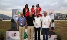 يوم ذهبي للبنان في بطولة غرب آسيا بألعاب القوى