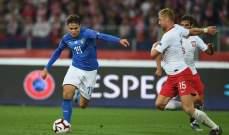 دوري الامم الاوروبية: دراما الدقائق الاخيرة تمنح ايطاليا فوزاً قاتلاً امام بولندا