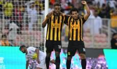 الدوري السعودي: فوز الإتحاد على الرائد وتعادل التعاون والحزم