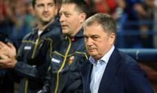 مدرب صربيا سيتواجد امام اسكتلندا رغم عقوبة الايقاف