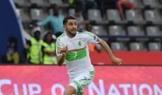 محرز يوجه رسالة شكر لمدرب المنتخب الجزائري بلماضي