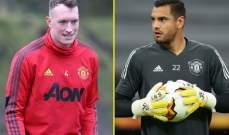 جونز وروميرو خارج قائمة مان يونايتد في الدوري الانكليزي