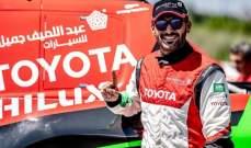 السعودي يزيد الراجحي يخطف المركز الرابع  في رالي دكار