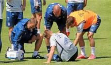 إصابة مدافع بايرن ميونيخ في التدريبات